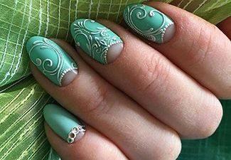 3d-узоры в дизайне ногтей - фото 6