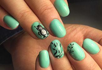 Актуальные цвета в дизайне ногтей - фото 1