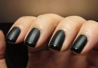 Френч на коротких ногтях - фото 15