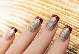 """Дизайн ногтей """"Цветной френч"""" - фото 8"""