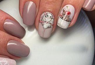 Дизайн ногтей - фото 11