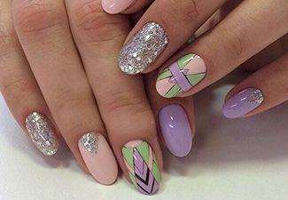 Дизайн ногтей - фото 17