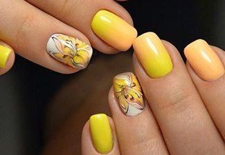 Дизайн ногтей - фото 21