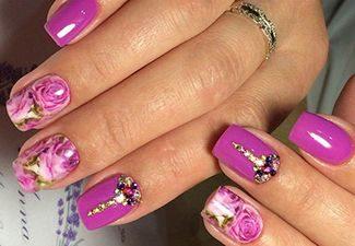 Дизайн ногтей - фото 22