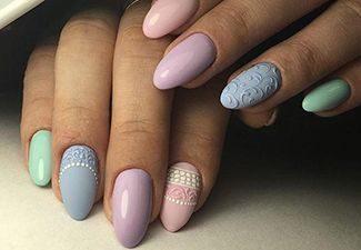 Дизайн ногтей - фото 23