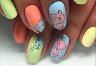 Дизайн ногтей - фото 26