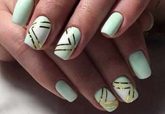 Дизайн ногтей - фото 29