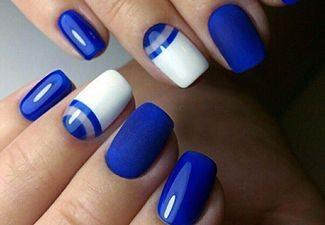 Дизайн ногтей - фото 30