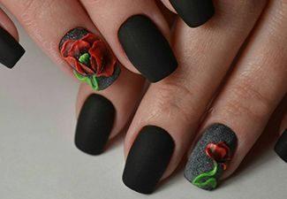 Последние тренды в дизайне ногтей - фото 11