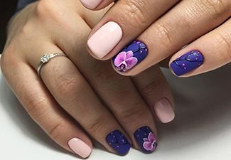 Последние тренды в дизайне ногтей - фото 12