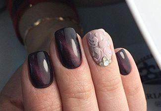 Последние тренды в дизайне ногтей - фото 9
