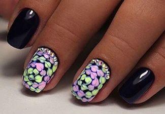 Гель-лак на коротких ногтях - фото 1