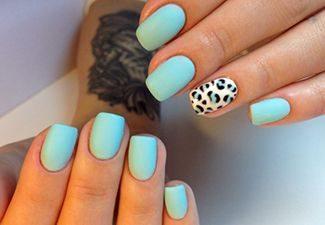 Гель-лак на коротких ногтях - фото 3
