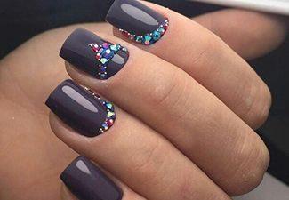 Гель-лак на коротких ногтях - фото 5