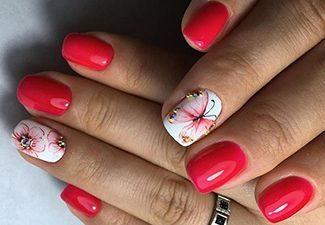 Гель-лак на коротких ногтях - фото 7