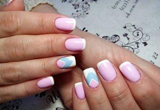 Френч пастельных цветов - фото 13