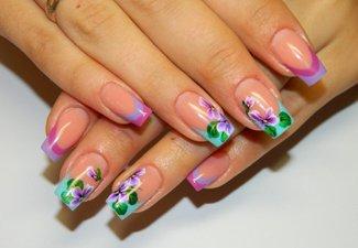 Френч пастельных цветов - фото 26