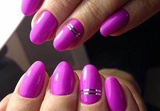 Стразы в дизайне ногтей - фото 1
