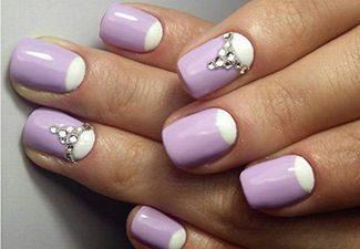 Стразы в дизайне ногтей - фото 2
