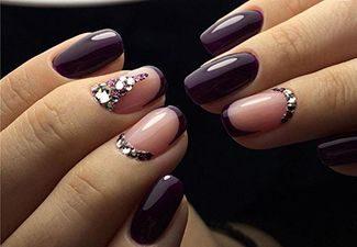 Стразы в дизайне ногтей - фото 9