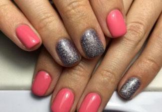 Гель-лак на коротких ногтях - фото 10