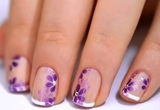 Гель-лак на коротких ногтях - фото 14