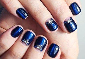 Гель-лак на коротких ногтях - фото 15