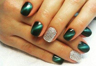 Гель-лак на коротких ногтях - фото 19