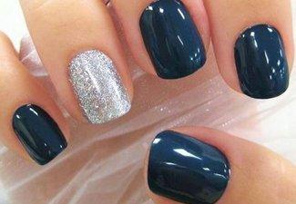 Гель-лак на коротких ногтях - фото 2