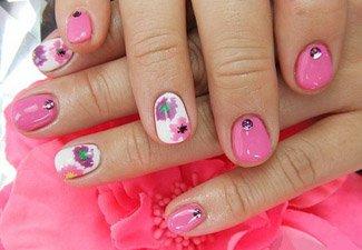 Гель-лак на коротких ногтях - фото 21