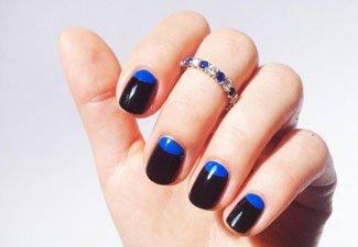 Гель-лак на коротких ногтях - фото 23