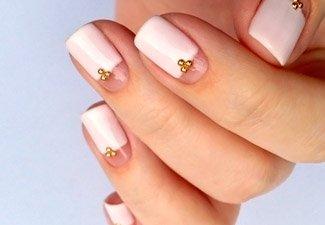 Гель-лак на коротких ногтях - фото 24