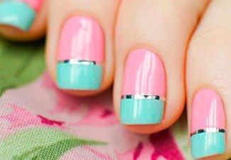 Гель-лак на коротких ногтях - фото 25
