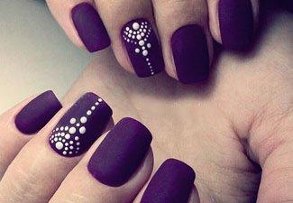 Гель-лак на коротких ногтях - фото 29