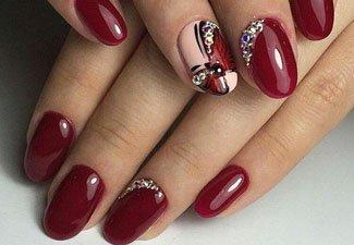 Гель-лак на коротких ногтях - фото 32