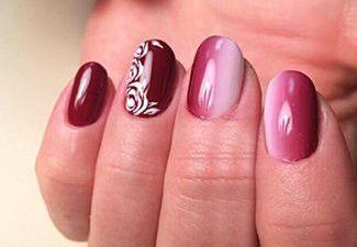 Гель-лак на коротких ногтях - фото 33