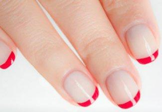 Гель-лак на коротких ногтях - фото 35