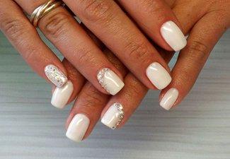 Гель-лак на коротких ногтях - фото 4
