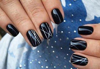 Гель-лак на коротких ногтях - фото 40
