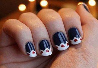 Гель-лак на коротких ногтях - фото 6