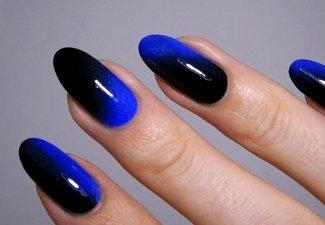 Осенний дизайн длинных ногтей - фото 12
