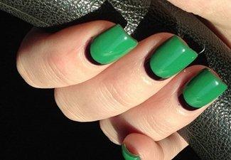 Осенний дизайн длинных ногтей - фото 19