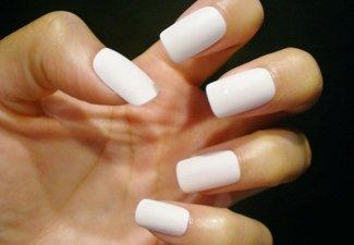 Осенний дизайн длинных ногтей - фото 23