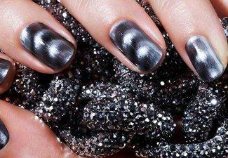 Осенний дизайн длинных ногтей - фото 32