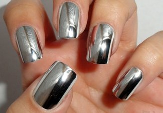 Осенний дизайн длинных ногтей - фото 34