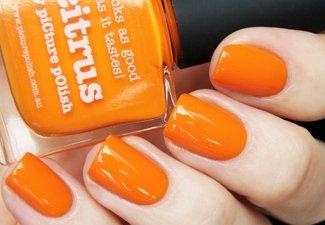 Осенний дизайн длинных ногтей - фото 5