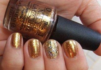 Осенний дизайн длинных ногтей - фото 6