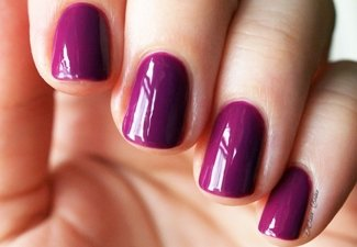Осенний дизайн коротких ногтей - фото 15