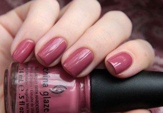Осенний дизайн коротких ногтей - фото 43