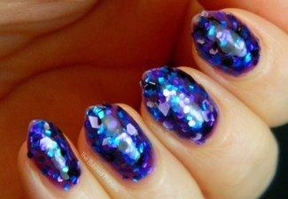 Осенний дизайн коротких ногтей - фото 6